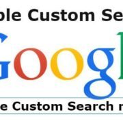 remove google custom search