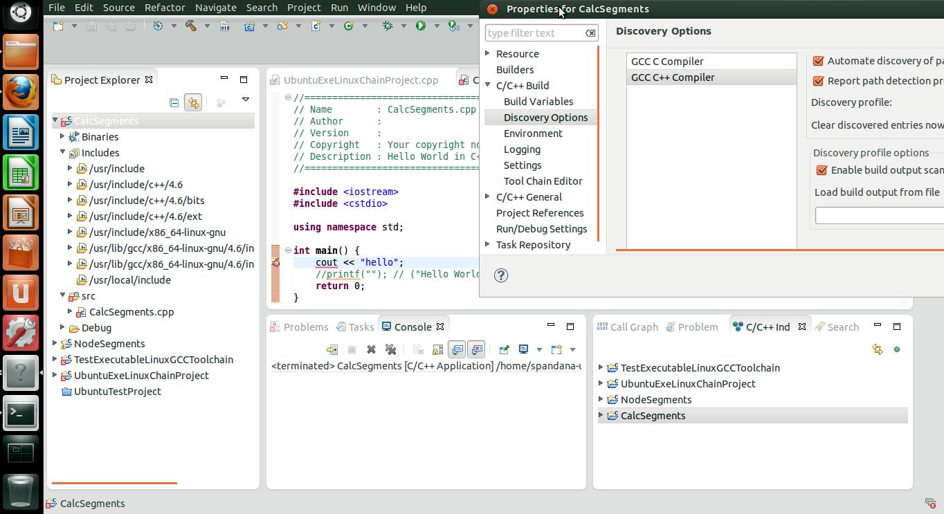 Eclipse C++ ide