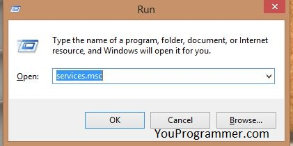 windows 10 service registration is missing