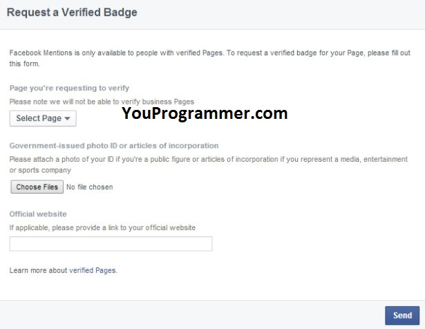 How To Verify Facebook Account and Page With Blue Tick (2017)