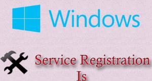 Service Registration is Missing or Corrupt