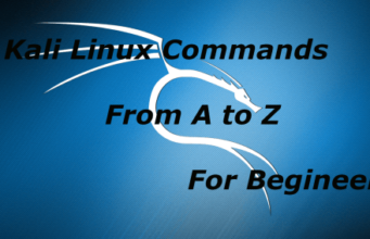 Kali Linux Command list For Begineers
