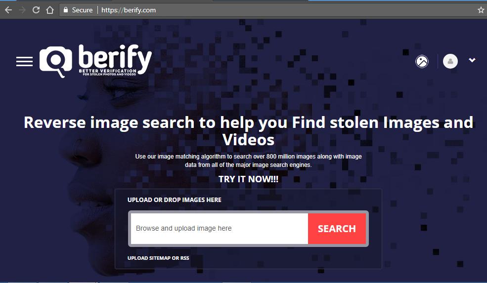 berify image searchh