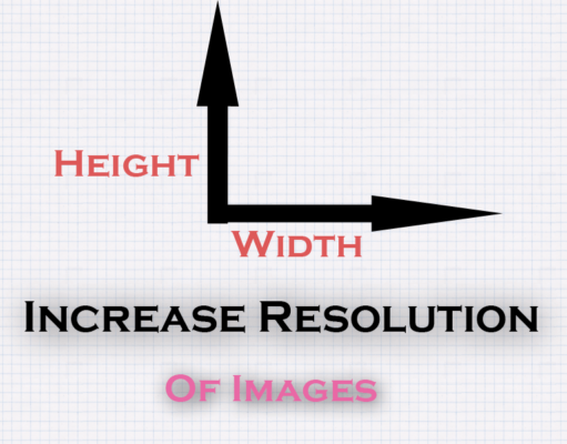 Increase Resolution of an image