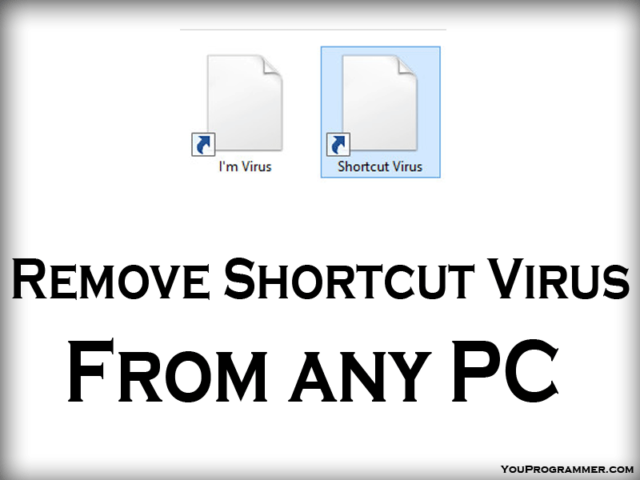 Remove Shortcut Virus From PC
