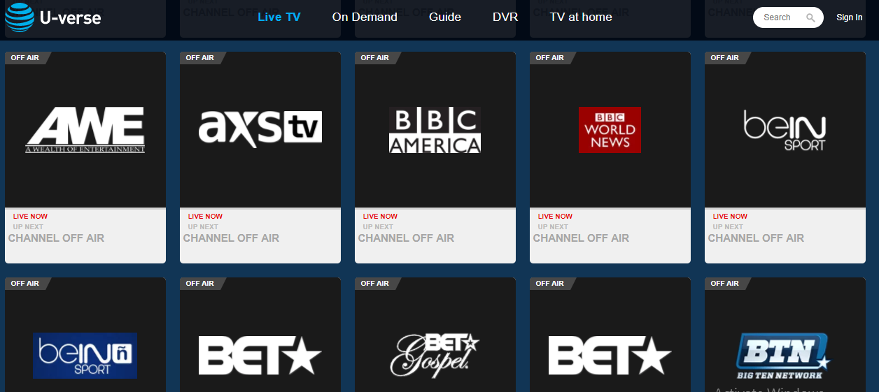 u verse - Free Sports Streaming Sites