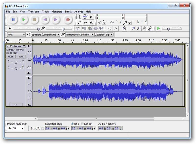 audacity best top free audio editor