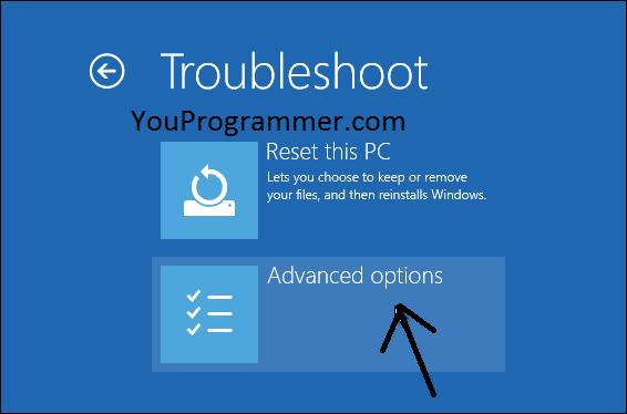 troubleshoot windows 10