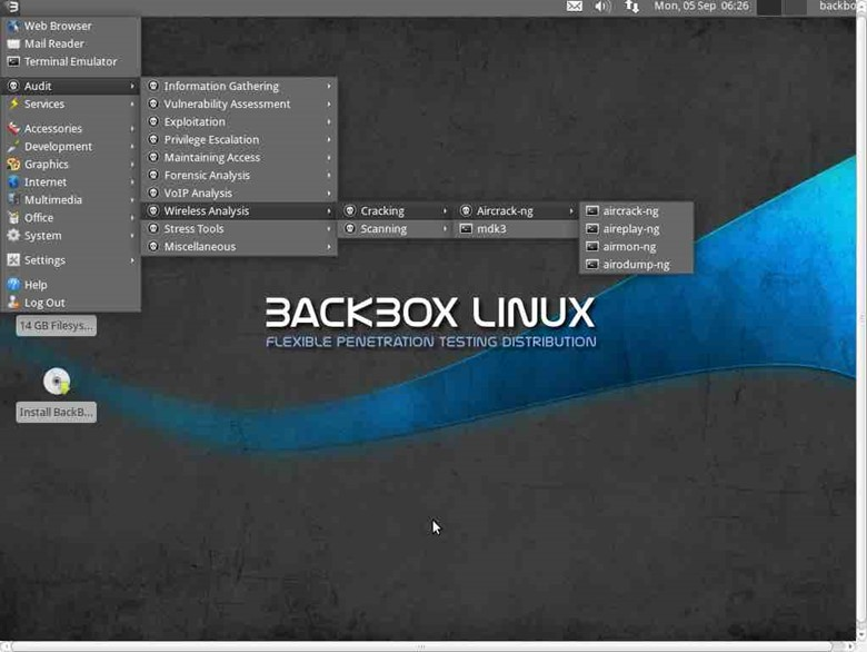 BackBox distro