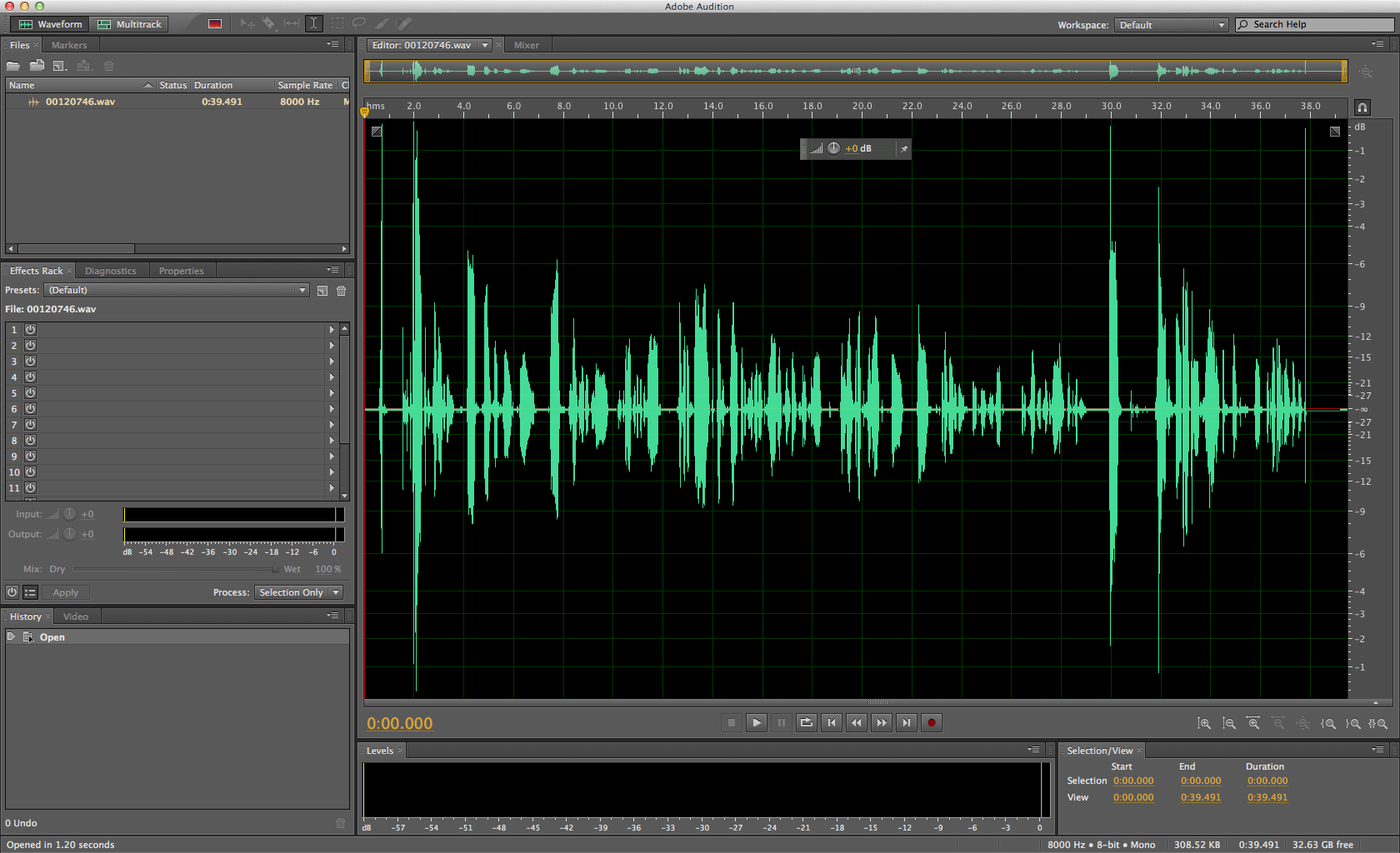 Adobe Audition Audio Editor free