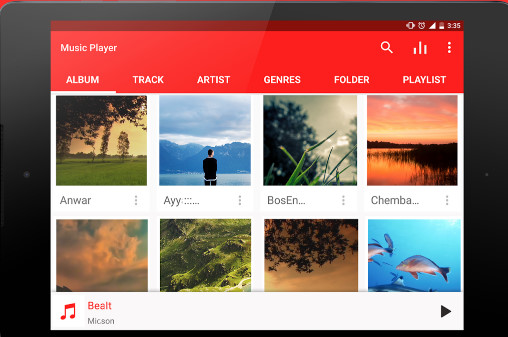 best free android music player offline