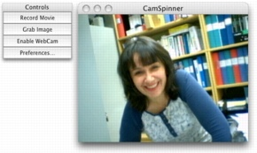 camspinner webcam software for mac os