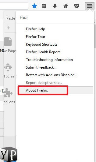 check what version of firefox you're using