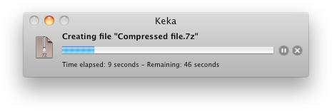 compress files on mac