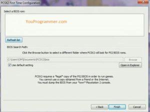 configure ps2 games pc