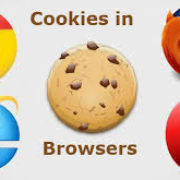 cookies in chrome, opera, safari, firefox