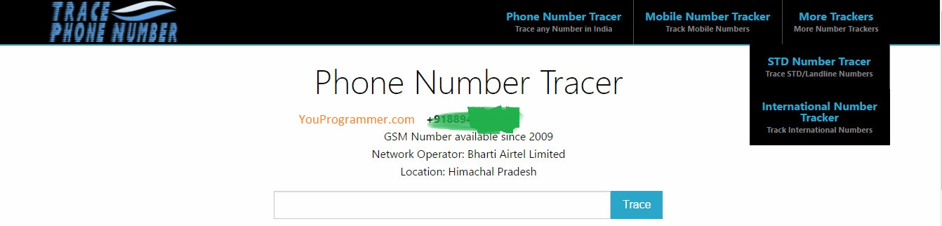 find details of person who is calling you