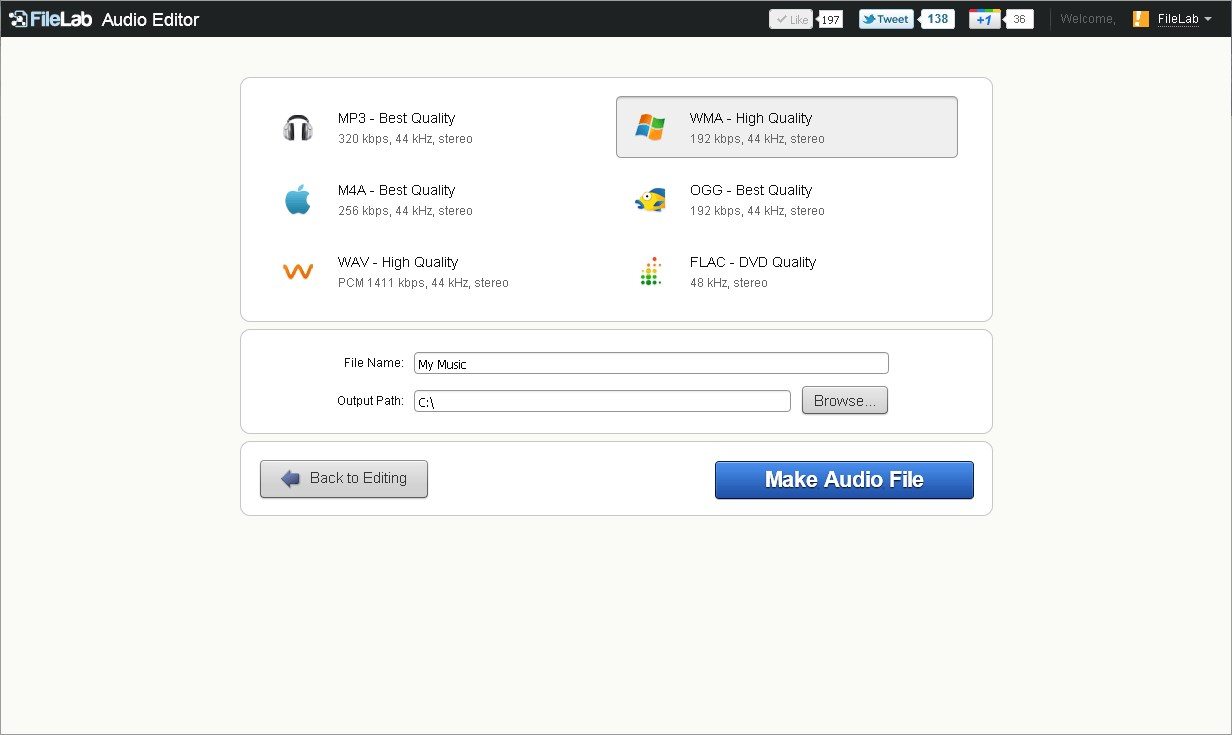 best free online audio editor