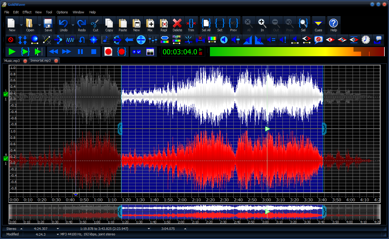 best audio editing softwares for free
