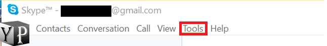 how to delete skype chat