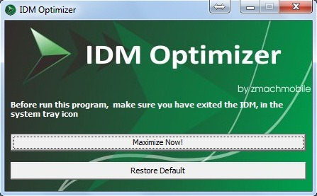 idm optimizer dashboard