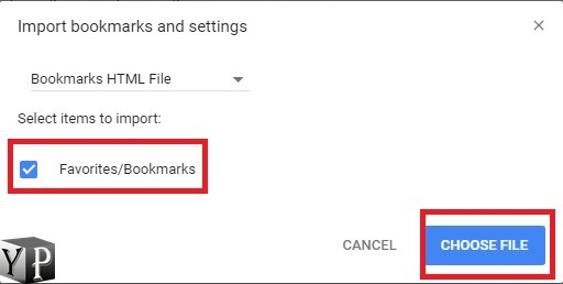 importing firefox bookmarks