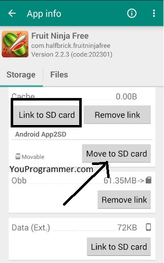 internal storage on android
