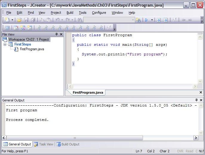 JCreator Java IDE