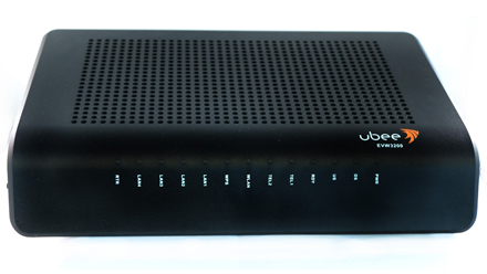 login ubee router