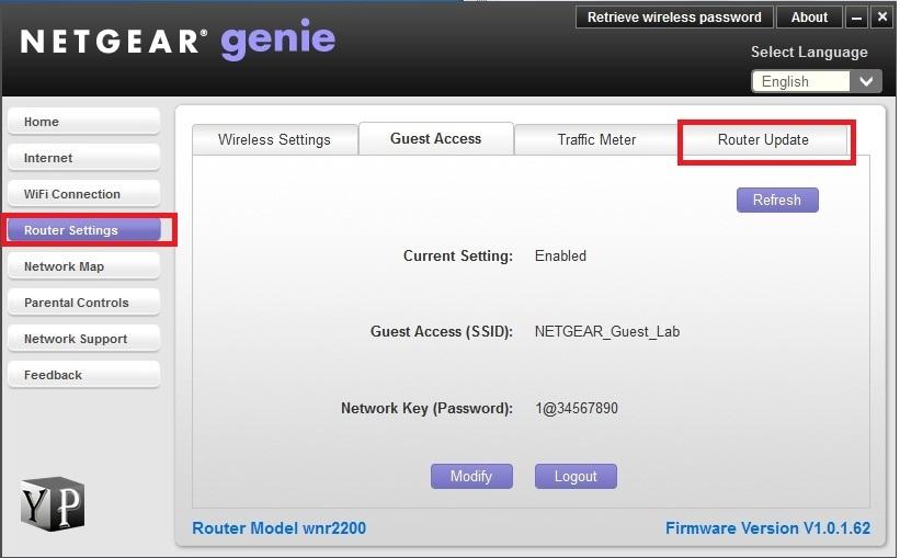 netgear router update latest