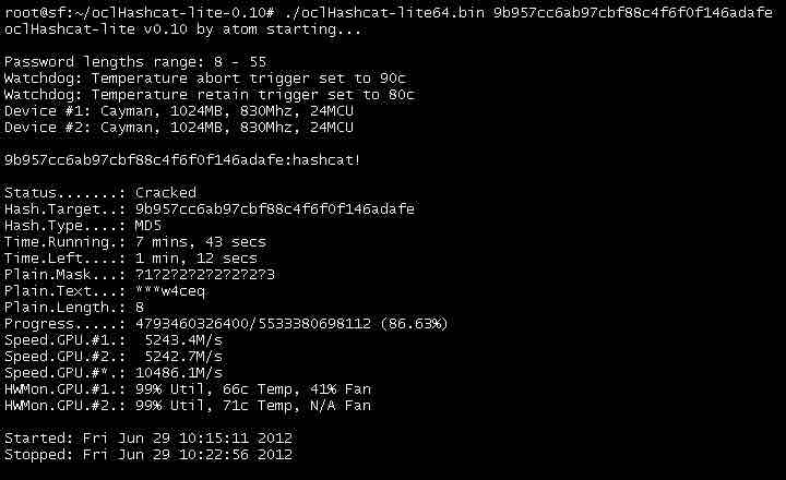 oclhashcat cracking tool