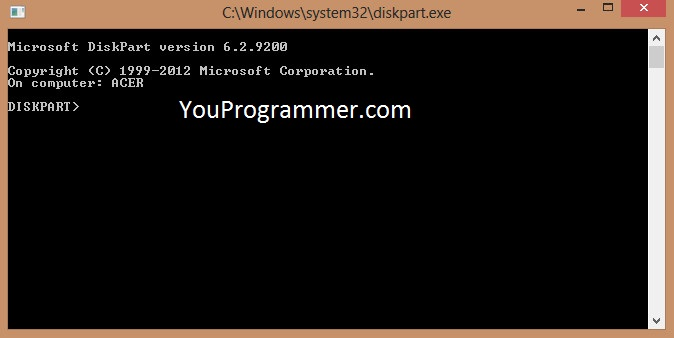 how to unlock hard drive with command prompt