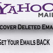 recover deleted emails yahoo