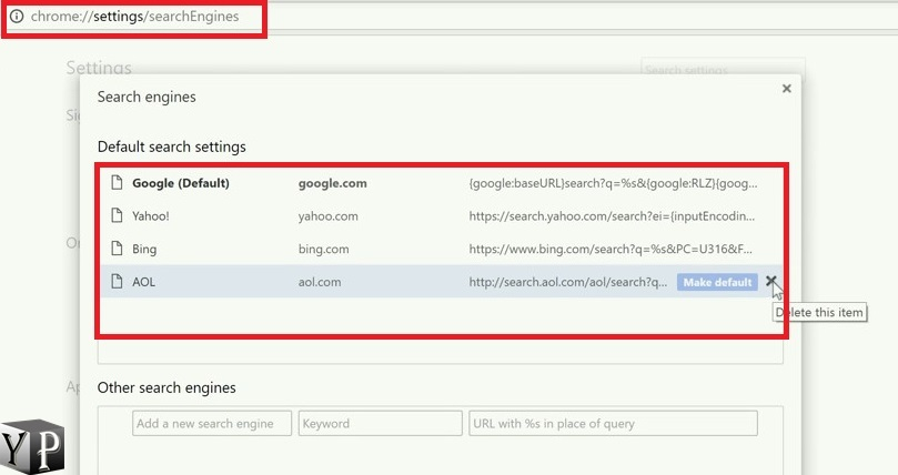 remove trotux unwated extensions from chrome