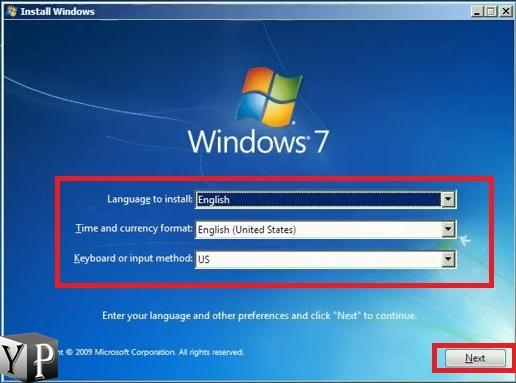 repair bootmgr missing error in windows 7