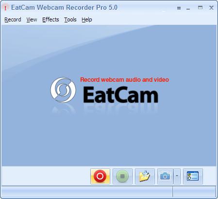 eatcam webcam recording software