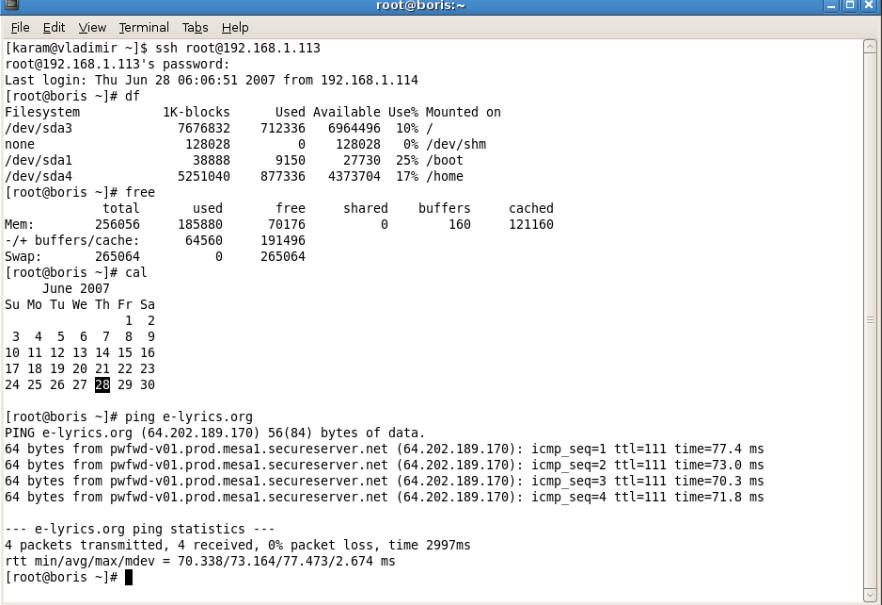 secure ssh client for windows