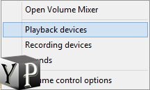 show playback devices