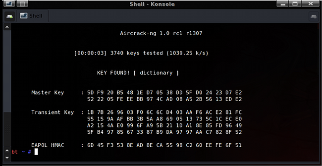 aircrack-ng wifi hacking tool