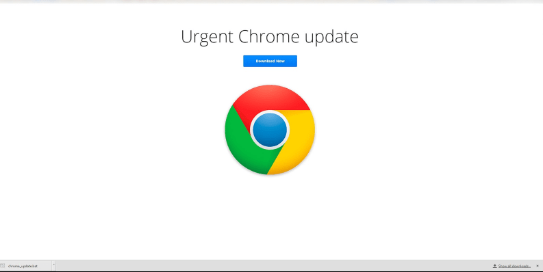 urgent chrome update
