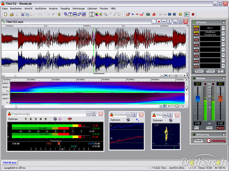 wavelab audio editor