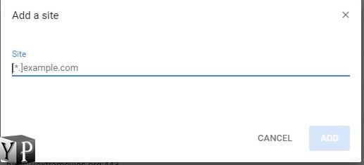 website allow flash chrome