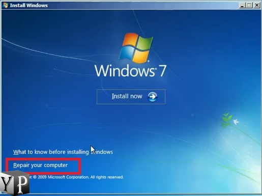 windows cant boot bootmgr windows 10