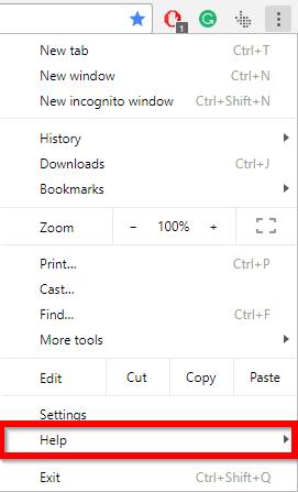 chrome select help