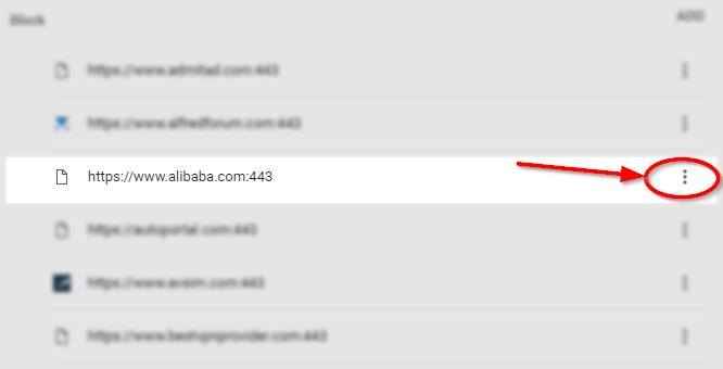 click three dots icon