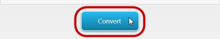 button to convert mkv to mp4