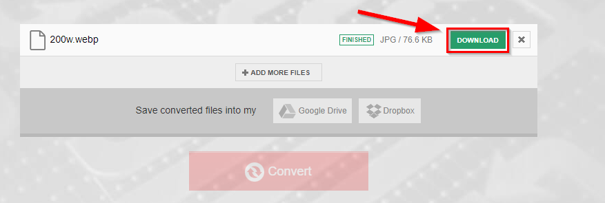 download webp to jpg converted file