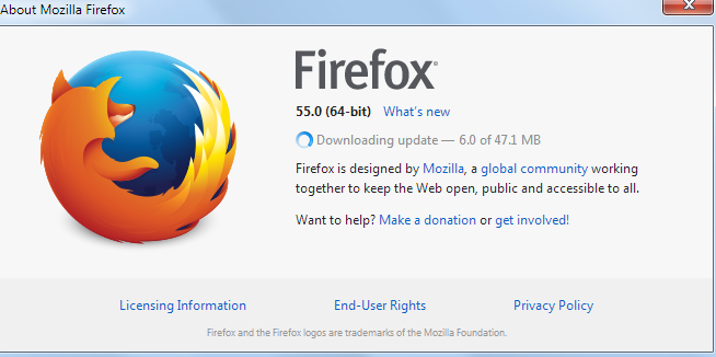 firefox checking for updates