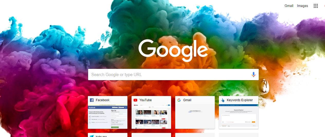 change google chrome theme