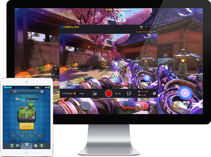 goplay screen recorder for windows and mac android